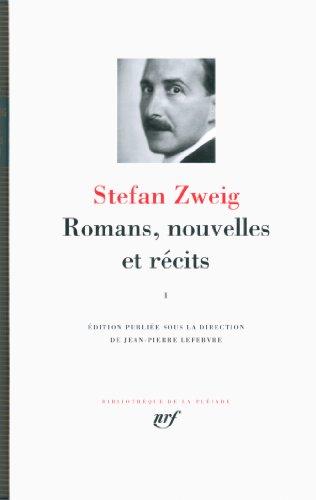 Romans, nouvelles et récits (Tome 1)