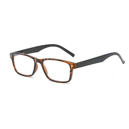 MUCHAO lesen Brille Unisex Brille Mode Retro Federscharnier lesen Brille +1.0 bis +4.0