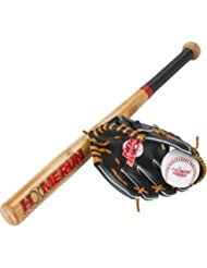 Homerun 26 Inch Baseball Bat, Ball and Glove Set.