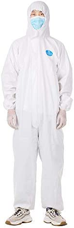 Mainstayae Coverall Disposable epidemic l Isolation Suit Prevent Invasion of for Staff Protective Clothing Dus