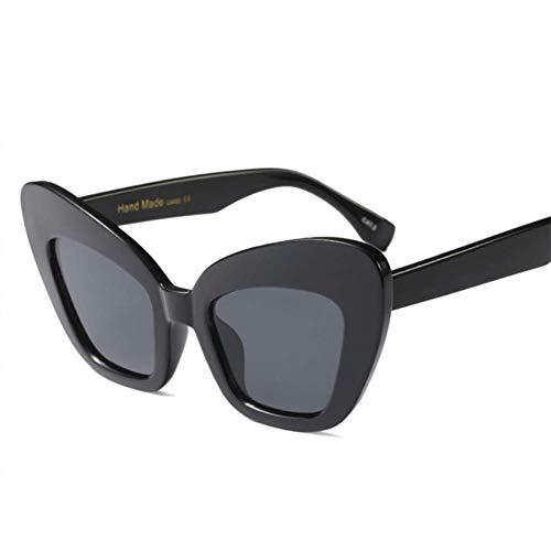 YHEGV Schmetterling Sonnenbrille Frauen Retro Pink Leopard Schwarz Vintage Red Cat Eye Sonnenbrille Für Frauen Big Frame Brillen