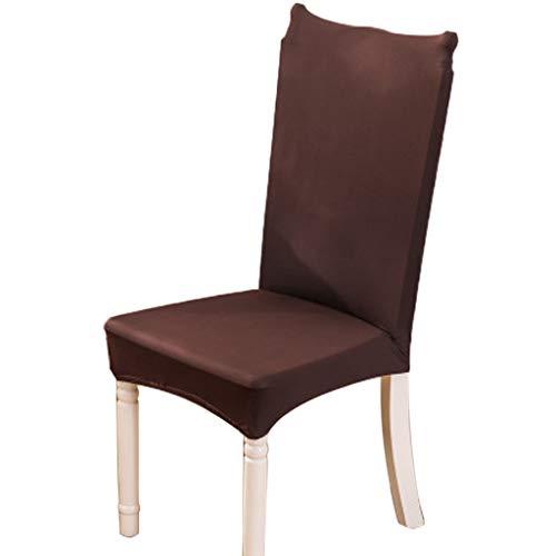 Haorw Stuhlhussen 2 Stück, Stretch-Stuhlbezug Elastische Moderne Husse Elasthan Stretchhusse Stuhlbezug