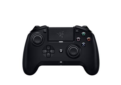 Razer Raiju Tournament Edition - Controlador de Juego inalámbrico y con Cable para PS4, Color Negro