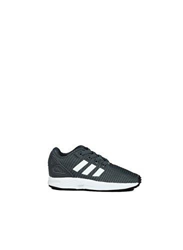 adidas ZX Flux El I, Chaussures de Fitness Mixte Enfant, Gris (Gricin/Negbás/Ftwbla 000), 27 EU
