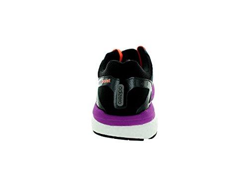 Adidas Adizero Tempo 7 W Noir / violet / pêche Running Shoe 6 nous Black/Purple/Peach