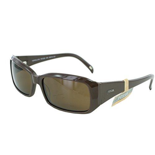 Fossil Damen Sonnenbrille Vermillion PS7208, Farbe:braun