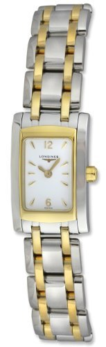 Longines Dolce Vita Mini Two-Tone Stainless Steel & 18K Gold Womens Watch L5.158.5.28.7