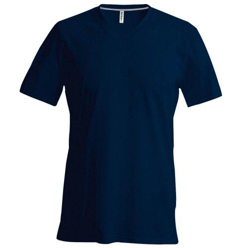 Kariban - Maglia Manica Corta - Uomo Blu reale