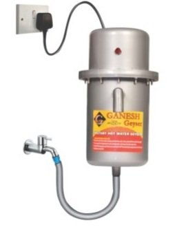 Ganesh Polymers Geyser (Plastic, Metallic Color)