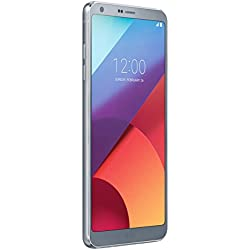 LG G6 Smartphone, Display QHD FullVision 5.7 pollici formato 18:9, Doppia Fotocamera Grandangolare da 13 MP, RAM 4 GB, Memoria Interna 32 GB espandibile fino a 2 TB, Resistente all'acqua, Argento [Italia]