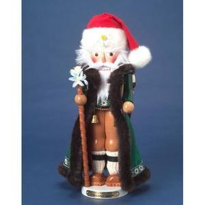 Kurt Adler 18-Inch Limited Edition Steinbach Signed Tyrolean Wind-Up Musical Santa Nutcracker by Steinbach Nutcrackers