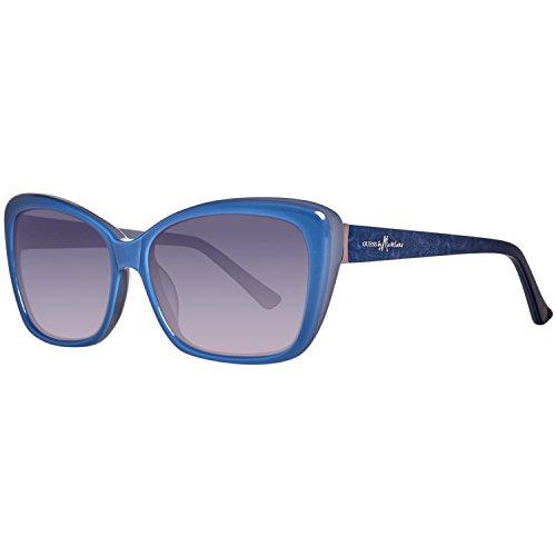 Guess MARCIANO Damen GM0706-56B44 Sonnenbrille, Blau (Blue), 56