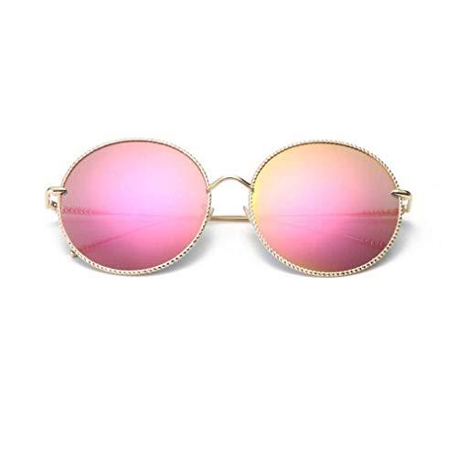 SWIMMM Retro Vintage Style Lennon inspiriert Runde Metall Kreis polarisierte Sonnenbrille für Frauen und Männer