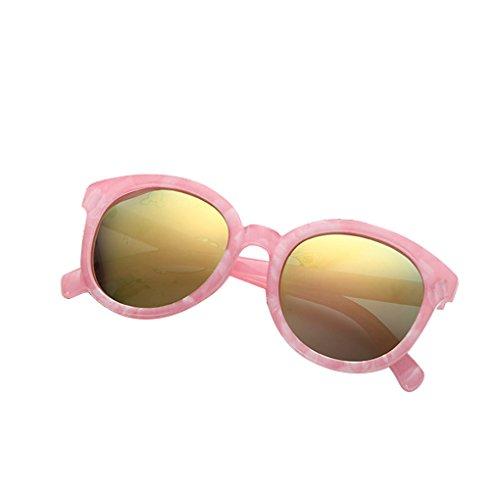 Junecat Kinder aus Kunststoff polarisierten Sonnenbrillen Runde Harz Objektiv Kinder Sonnenbrillen Jungen Mädchen Spiegel Shades UV400 Schutz Brillen