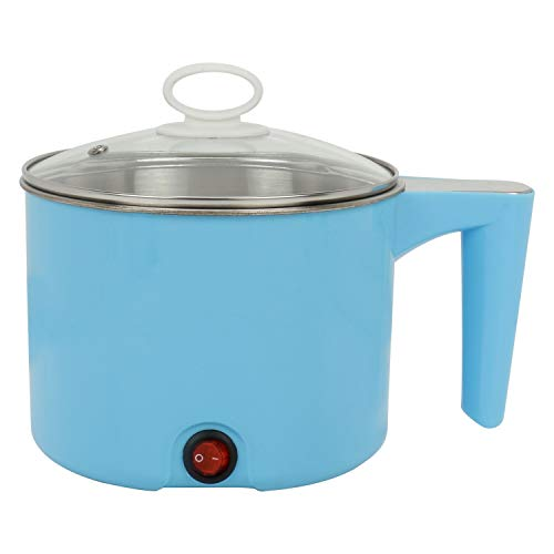 Flyngo Electric Multifunction Cooking Pot 1.5 Litre Multi-Purpose Cooker for Home, Office and Travel (Random Color)