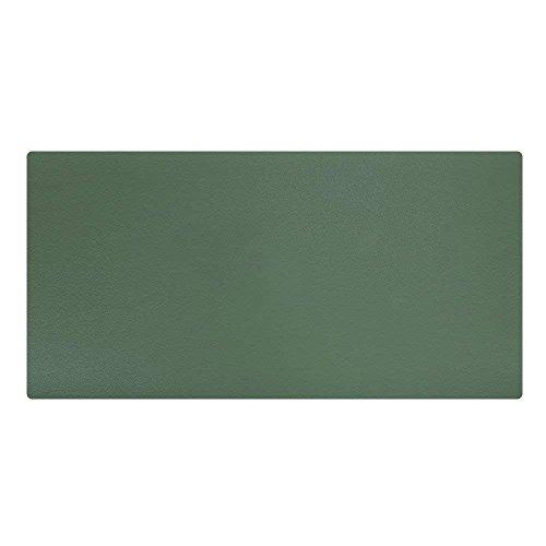 LiLan Pu Leder Schreibtischunterlage Schreibunterlage Große Gaming Mauspad, 600X300mm, Grün