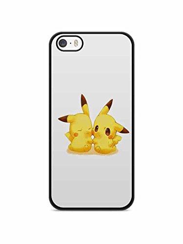 Coque Iphone 5c Pokemon go team pokedex Pikachu Manga valor mystic instinct case REF11040