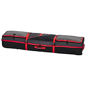 HEAD Unisex Boardbag TRAVEL Board Bag, Anthrazit/Schwarz/Rot, 150