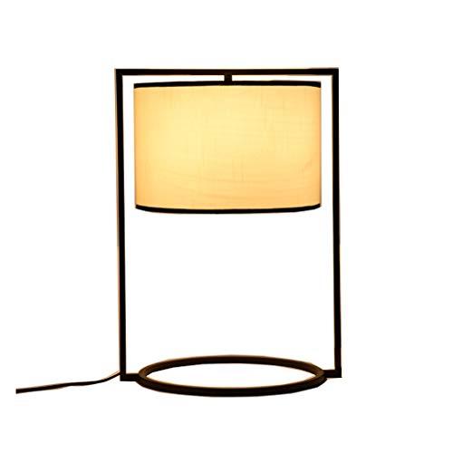 Lampes de table Moderne Minimaliste Salon Salle À Manger Chambre À Coucher Étude Ronde en Fer Éclairage LED