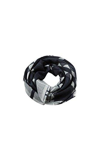 ESPRIT Accessoires Damen Schal 078EA1Q006, Schwarz (Black 001), One Size