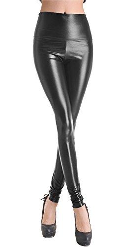 queenshinyr-damen-wetlook-latexlook-ganzkorper-leggings-hohe-taille-leder-optik-glanzend-schwarz-l