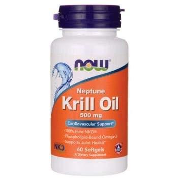 Now Foods Neptune Krill Oil (di gamberetti dell'Atlantico) 500 mg - 60 perle