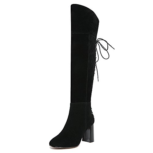 Nine SevenOver-the-knee Boots - Stivali donna Black