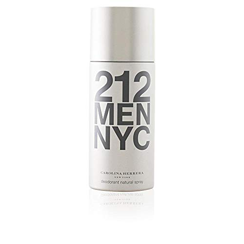 Carolina Herrera 212 Homme / men, Deodorant, Vaporisateur / Spray 150 ml, 1er Pack (1 x 150 ml)