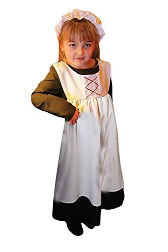 Ursula Urchin (Victorian Girl) - Kids Costume 9 - 11 years by A2Z Kids