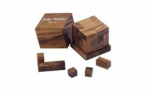 """Philos 6243 - Juego de lógica de madera """"Cubo Juha de 8"""""""