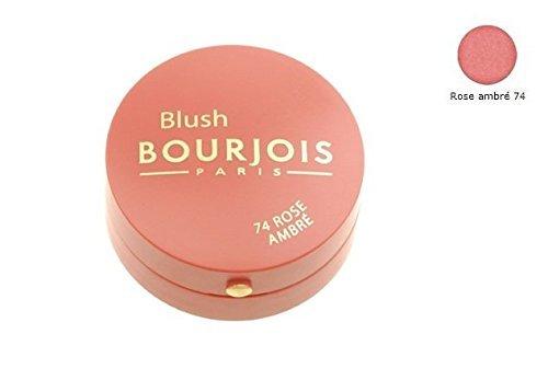 Round Bourjois Pot Blush (Bourjois blush little round pot - 74 Rose Ambre by Bourjois)