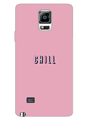 Samsung Note 4 Cases & Covers - Take A Chill Pill - Quote - Hard Shell Back Case  available at amazon for Rs.469