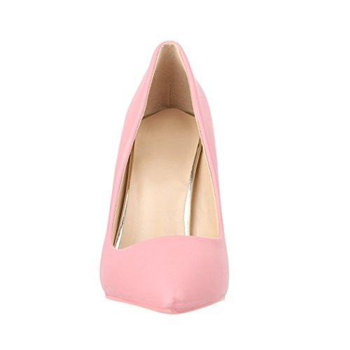 8995578f20df40 Elara Damen Pumps Spitz Moderne High Heels Bequeme Stilettos ...