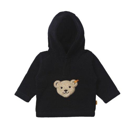Steiff Unisex - Baby Sweatshirt 0006863 Blau (Marine ) 80 (Herstellergröße: 80)