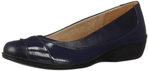 LifeStride Women's ILARA Loafer Flat Navy 7 2W US (Lifestride Schuhe Wohnungen)