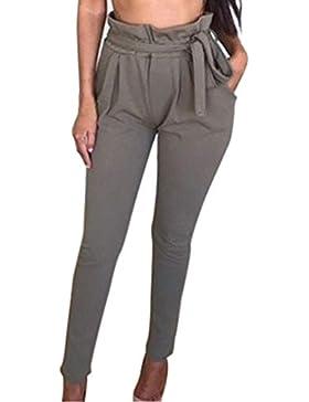 Pantalones harén Ajustado para Mujer Otoño Invierno 2018 Moda PAOLIAN Casual Pantalones Vestir Suelto Fiesta Pantalones...