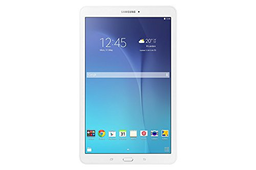 Price comparison product image Samsung Galaxy Tab E SM-T560 9.6-Inch Tablet PC - (Pearl White) (Intel Quad Core 1.3 GHz, 1.5 GB RAM, 8 GB HDD, Android 4.4)