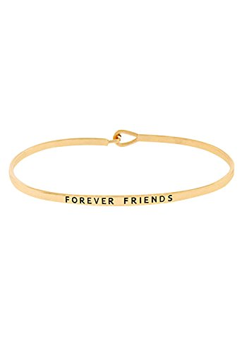 rosemarie-collections-womens-gold-tone-thin-hook-bangle-bracelet-forever-friends