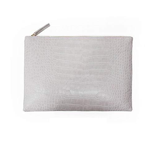 KHGUDS Mode Clutch Abendtasche Weibliche Clutche Krokodilkorn Frauen Handtasche Leder Frauen Umschlag Tasche Brieftasche