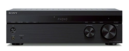 Sony STR de dh190- Amplificador de 2Canales, conexión con Smartphone y Bluetooth, Color Negro