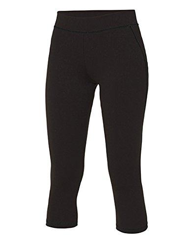 Pantalon été 3/4 Capri Femme Cool Capri 3/4 Pants Jet Black/Jet Black