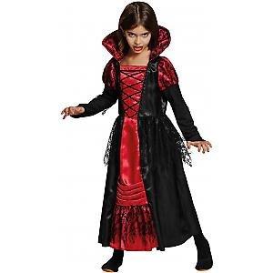 Preisvergleich Produktbild Vampir Prinzessin Halloween Karneval Fasching Kostüm 140