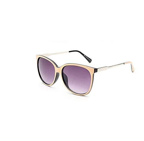 Sport-Sonnenbrillen, Vintage Sonnenbrillen, Luxury Women Sunglasses Fashion Round Ladies Vintage Retro Brand Designer Oversized Female Sport Sun Glasses Tide