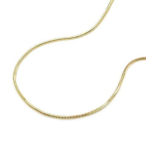 Latotsa 14 Karat 585 Gelbgold Gold Schlangenkette Schlange Schlangen Kette Halskette Goldkette Schmuck Collier