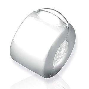 925 Silber Stopper von Unique für Bead Armbänder mit Gewinde BX0004