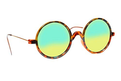 Generic Graceful GS126 Bose Round Blue Unisex Stlylish sunglasses