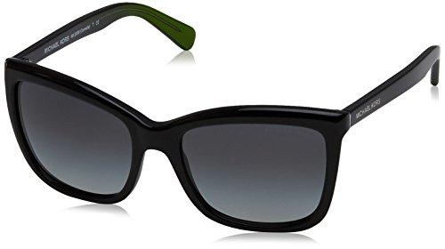 Michael Kors Damen CORNELIA 321611 54 Sonnenbrille, Black/Dkgreygradient,