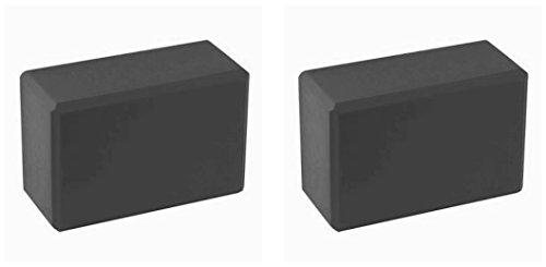 BodyRip 2x blocs de yoga en mousse Noir