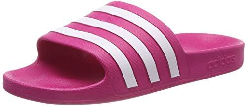 Adidas adilette aqua, scarpe da fitness unisex-bambini, rosa (pink f35536), 36.5 eu
