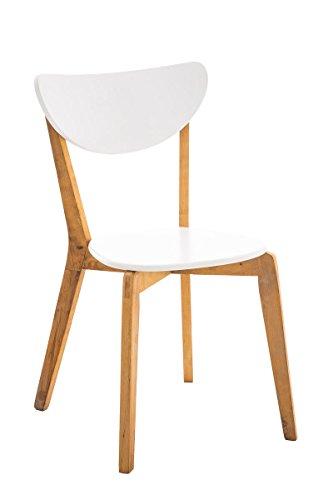 CLP-Chaise-de-cuisine-Chaise-salle–manger-ARABIA-avec-sige-en-bois-sige-sous-forme-ergonomique-entretien-facile-blanc-naturel
